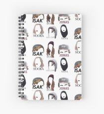 Cuaderno de espiral SKAM