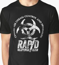 CDC - Rapid Response Team (White Out) Graphic T-Shirt