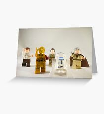 Faceless Zombies Greeting Card