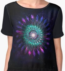When Space Reflects Back At You Chiffon Top