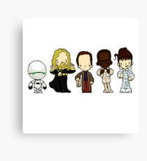 Hitchhiker's guide to the galaxy Canvas Print