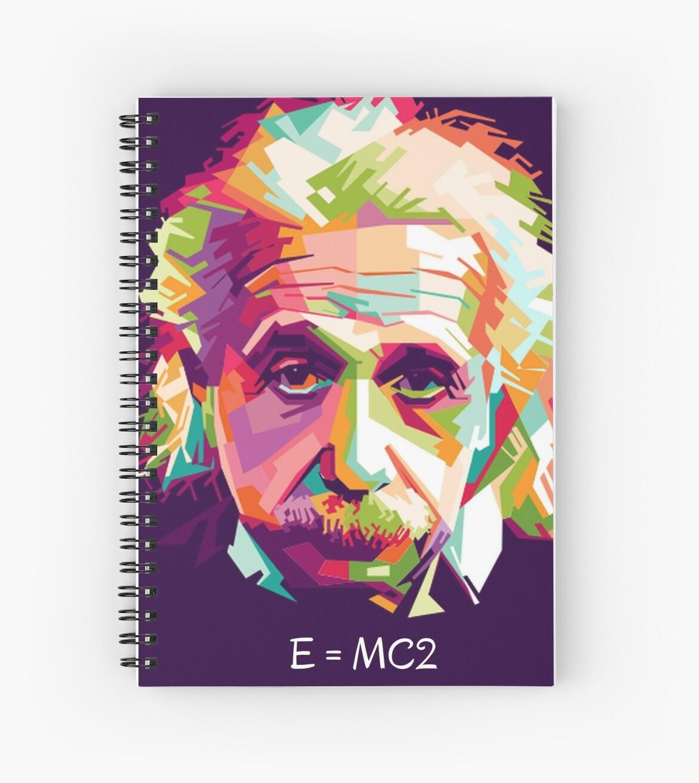 Einstein - E=MC2 by lilypadsales