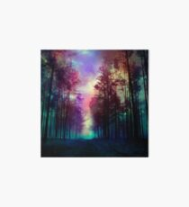 Magical Forest Art Board Print