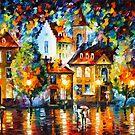 «NOCHE DE LUXEMBURGO - Leonid Afremov» de Leonid Afremov