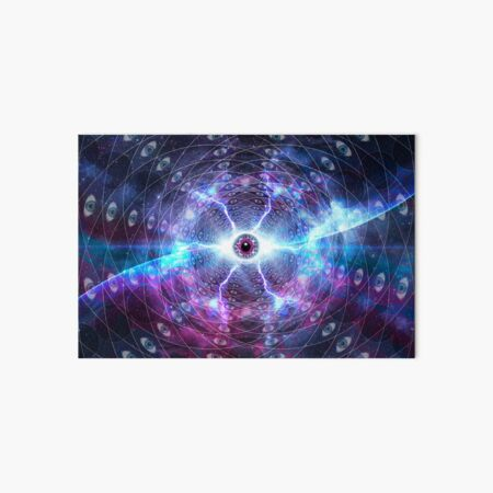 Eye Of The Universe Art Board Print