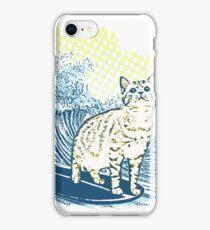 Surfing Cat iPhone Case/Skin