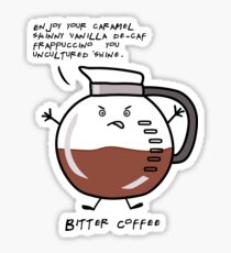 Bitter Coffee Sticker