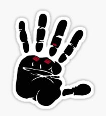 Crossfit ripped hand Sticker