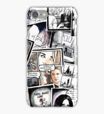 peyton's artwork collage iPhone Case/Skin
