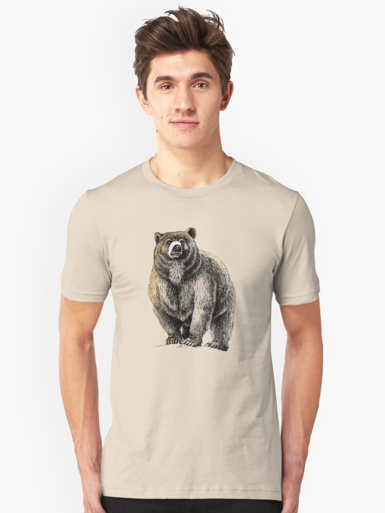 The Great Bear - A fierce protector by AirDrawn