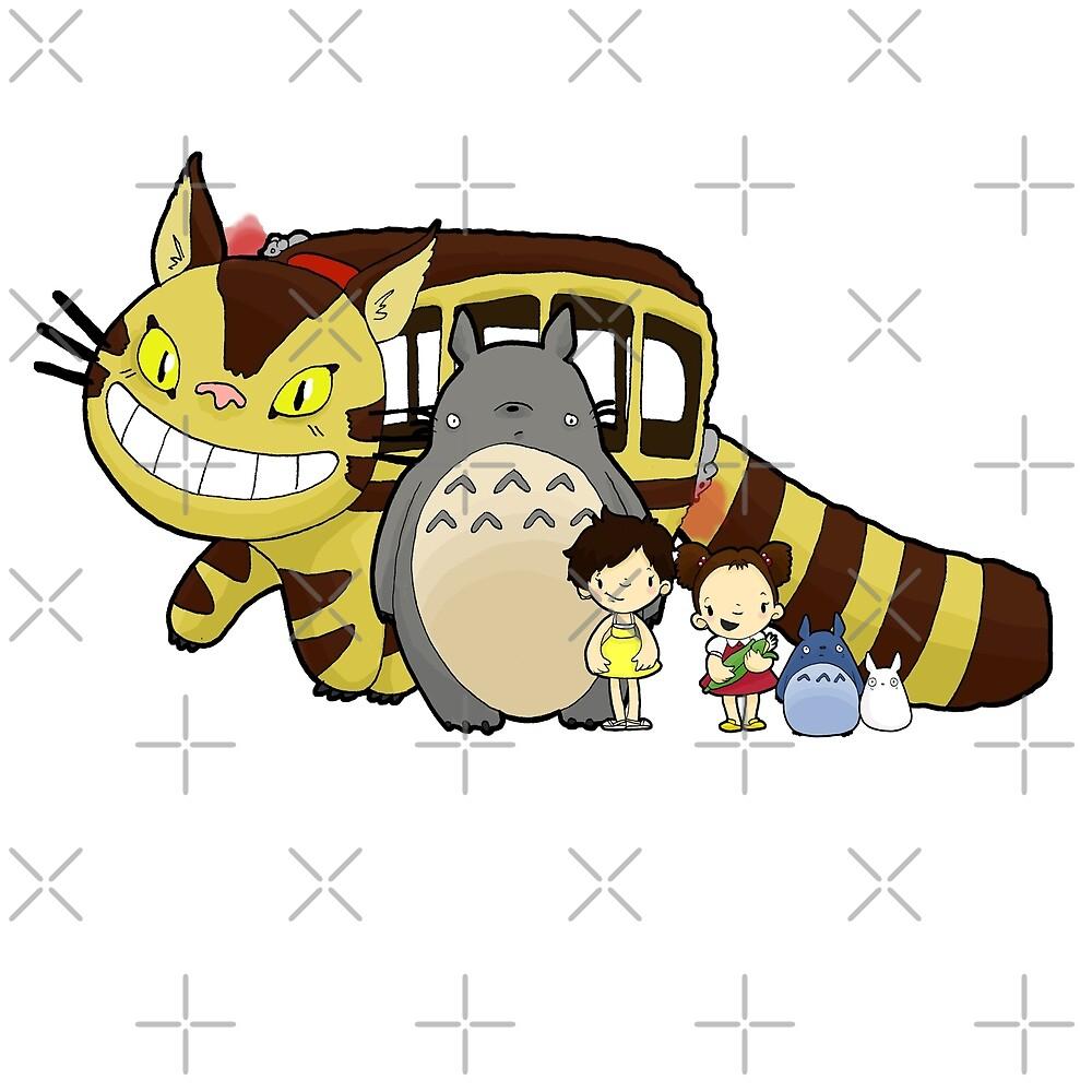 Totoro, to-to-ro by Bantambb