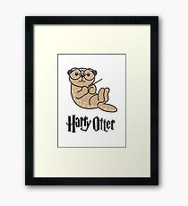 Funny Harry Otter Framed Print