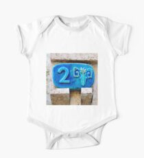 Taurus Ceramic Zodiac street sign the number 2 Kids Clothes