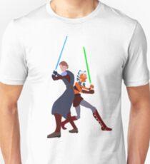 Star Wars: Anakin and Ahsoka - Master and Padawan Unisex T-Shirt