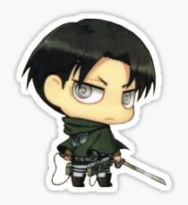 chibi levi Sticker