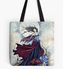 The Moon Is Calling Tote Bag