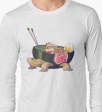 Ramen Tortoise  Long Sleeve T-Shirt