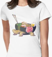 Ramen Tortoise  Women's Fitted T-Shirt