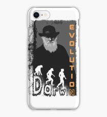 Darwin Evolution by Crazydodo iPhone Case/Skin