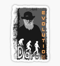 Darwin Evolution by Crazydodo Sticker