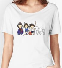 Princess of the Forest, Mononoke Women's Relaxed Fit T-Shirt