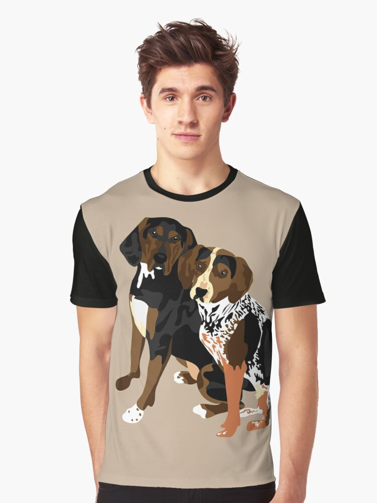 Marlowe and Gracie Graphic T-Shirt Front
