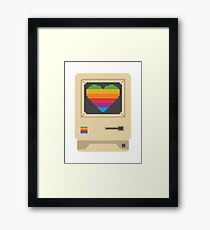 Mac Love Framed Print