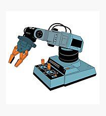 Eighties Robot Arm Photographic Print