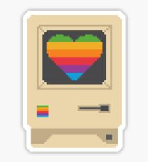 Mac Love Sticker