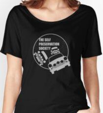 Classic Mini Cooper S - Italian Job - Reversed Women's Relaxed Fit T-Shirt