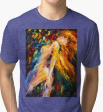 BIAS - Leonid Afremov Tri-blend T-Shirt