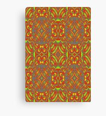 Abstract cool unique Pattern Canvas Print