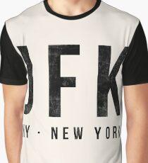 JFK New York airport code Graphic T-Shirt