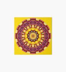 Pomagranate & Lemon Mandala Art Board