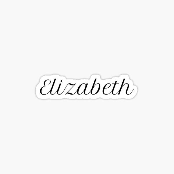 Elizabeth Sticker