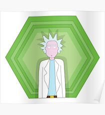 Rick Sanchez (Rick and Morty) Poster