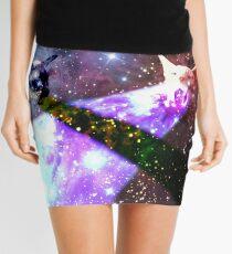 Space Cats Mini Skirt