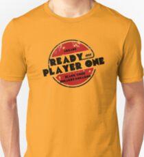 Ready Player One Logo Black Tiger 1987 Unisex T-Shirt