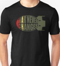 War never changes: Mini-nuke Unisex T-Shirt