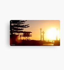 Cronulla Sunrise Canvas Print
