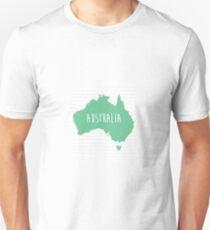 Australia Chevron Continent Series T-Shirt