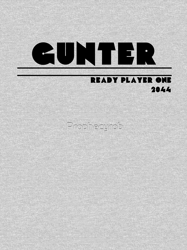 Ready Player One - Gunter | Unisex T-Shirt