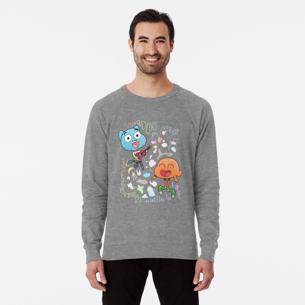 Niemand ist ein Niemand Gumball und Darwin Leichter Pullover