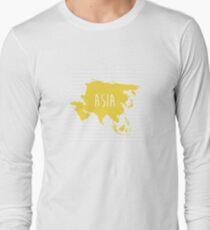 Asia Chevron Continent Series T-Shirt
