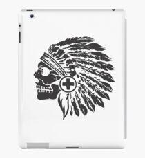 Native Headdress and skull iPad Case/Skin