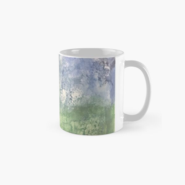 Night Sky in Forest Classic Mug