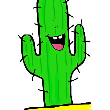 Cute Cactus by AJPeacock
