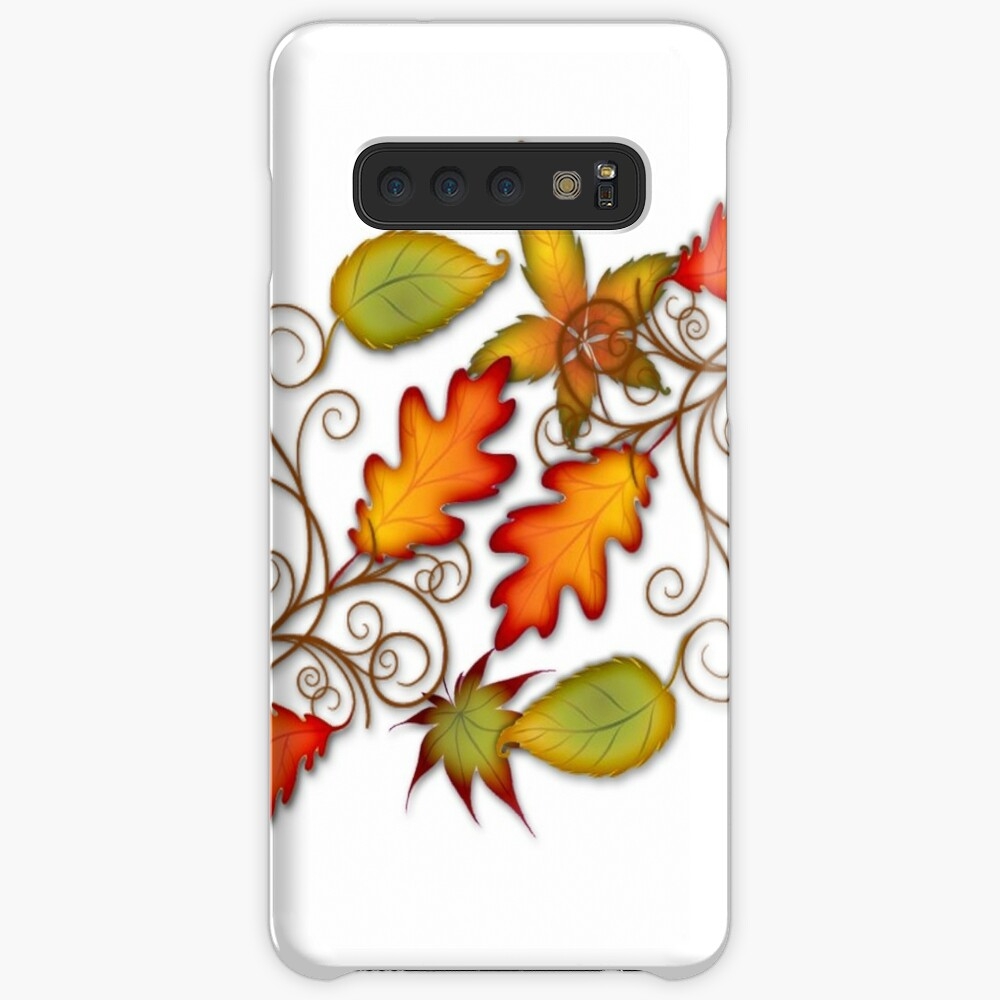 Autumn Leaves - panel Case & Skin for Samsung Galaxy
