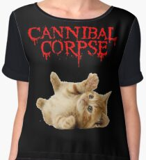 cannibal corpse Chiffon Top