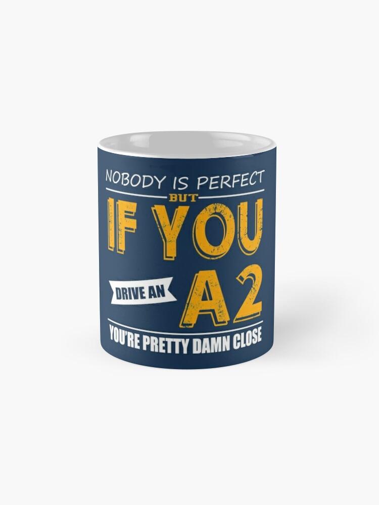 Alternate view of Audi A2 Mug